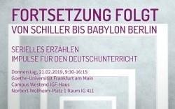 """""""Was bisher geschah"""" und """"Fortsetzung folgt"""": Tagungsbericht"""