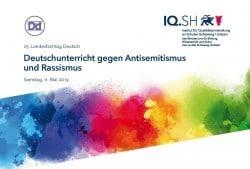 """Landesfachtag Deutsch zum Thema """"Deutschunterricht gegen Antisemitismus und Rassismus"""""""