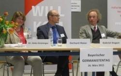 Belebte Zusammenarbeit von Schul- und Hochschulgermanistik: Tagungsbericht zum Kleinen Germanistentag Bayern 2015